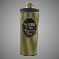Vintage Men's Talcum Powder Tin Palmolive