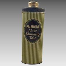 Vintage Men's Talcum Powder Tin Palmolive