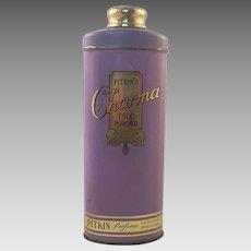 Vintage Talcum Powder Tin Pitkin's Charma