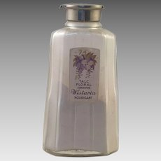 Vintage Houbigant Talcum Powder Bottle