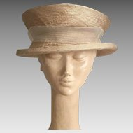 Vintage Reproduction Edwardian Hat By Lilliput Hats