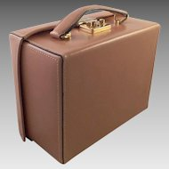 Vintage Mark Cross Grace Box Bag Purse