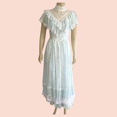 Vintage Gunne Sax Dress Jessica McClintock