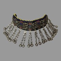 REDUCED Vintage Pashtun Ethnic Tribal Necklace Afghanistan Pakistan