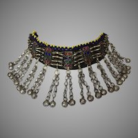 Vintage Pashtun Ethnic Tribal Necklace Afghanistan Pakistan