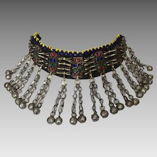 Vintage Pashtun Ethnic Tribal Necklace Afghanistan Pakistan