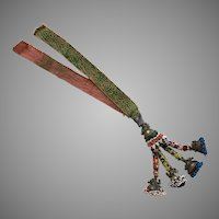 Vintage Ethnic Tribal Heavily Beaded Necklace