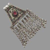 REDUCED Vintage Pashtun Ethnic Tribal Amulet Pakistan Afghanistan