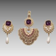 Shaill Jhaveri For Avon Imperial Elegance Demi Parure