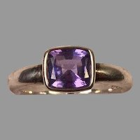 Tanzanite & Sterling Silver Ring