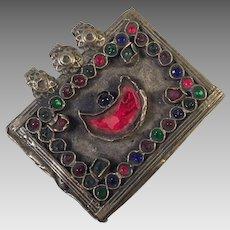 Vintage Pashtun Ethnic Tribal Amulet Pakistan Afghanistan