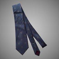 Vintage Geoffrey Beene Silk Tie Necktie Made In Italy