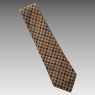 Vintage Bill Blass Silk Tie Necktie Made In USA