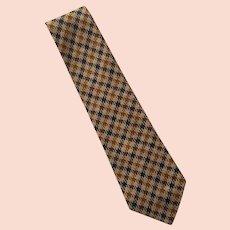 Vintage Bill Blass Silk Tie Necktie Made In USA