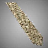 Vintage Mario Valentino Silk Tie Necktie Made In Italy