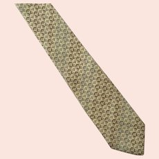 REDUCED Vintage Mario Valentino Silk Tie Necktie Made In Italy