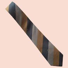 Vintage Egon Von Furstenberg Silk Tie Necktie