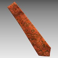 Vintage Hand Made Thai Silk Necktie Tie