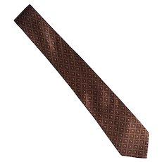Vintage Mylord Silk Necktie Tie Made In Italy