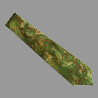 Vintage Thai Silk Tie Necktie Made In Thailand