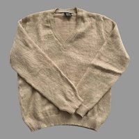 Vintage Unisex Alpaca Sweater Made In Peru