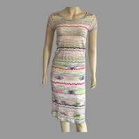 REDUCED Vintage Missoni Knit Skirt & Top Set Made In Italy Size 4