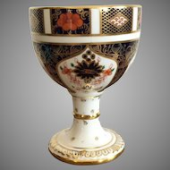 Royal Crown Derby Old Imari Pattern Goblet