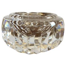Waterford Heavy Crystal Ashtray Signed