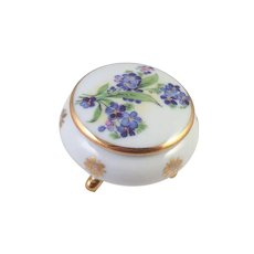 Limoges Small Covered Trinket Box