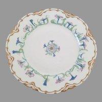 Art Nouveau Haviland Limoges France Plate Petunias