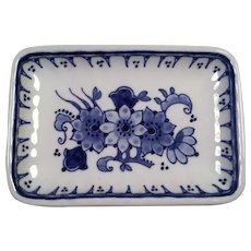 Vintage Delft Holland Trinket Dish