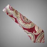 Vintage 1940's Silk Londonderry Necktie Tie