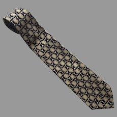 REDUCED Vintage Paolo Gucci Silk Necktie Tie Made In Italy
