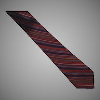 Vintage Silk Gucci Necktie Tie Made In Italy