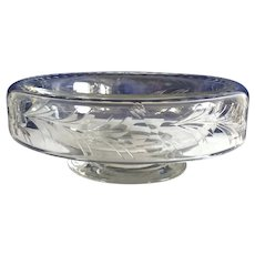 Early 1900's Hawkes Hand Cut Glass Bowl