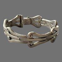 Vintage Los Ballesteros Mexican Sterling Bracelet