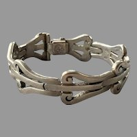 REDUCED Vintage Los Ballesteros Mexican Sterling Bracelet
