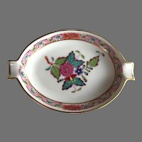 Herend Chinese Bouquet Pattern Ashtray