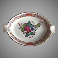 Herend Chinese Bouquet Multicolor Ashtray