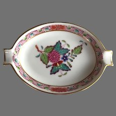 REDUCED Herend Chinese Bouquet Pattern Ashtray