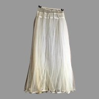 REDUCED Victorian Ankle Length Double Layer Net Petticoat