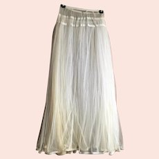 Victorian Ankle Length Double Layer Net Petticoat