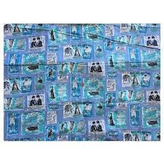 Vintage Sewing Fabric Fashion Advertisements Pattern 7 + Yards