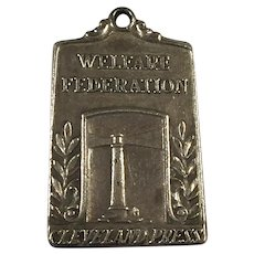 Balfour Sterling Welfare Federation Cleveland Press Pendant