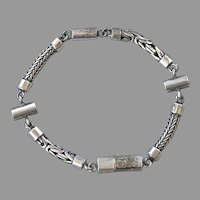 REDUCED Sterling Unisex Chain Bracelet