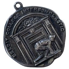 1915 Sterling Track & Field Medal Beloit College