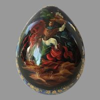 St. Petersburg Russian Lacquer Egg