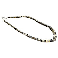REDUCED Vintage Native American Heishi Bead Necklace