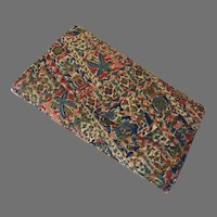 REDUCED Vintage 1960's JR Julius Resnick Fabric Covered Clutch