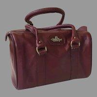 REDUCED Vintage Ettiene Aigner Leather Satchel Purse